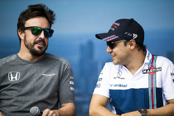 Fernando Alonso, McLaren, Felipe Massa, Williams