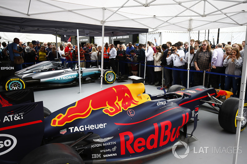 Red Bull Racing und Mercedes AMG F1