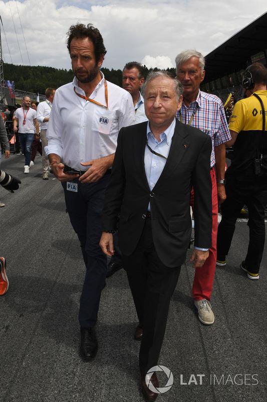 Маттео Бончіані, медіа-делегат FIA, Жан Тодт, президент FIA