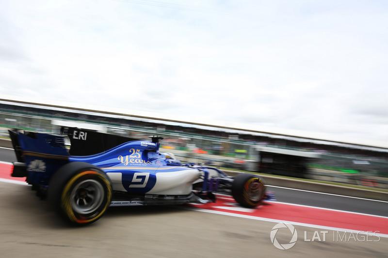 14. Маркус Эрикссон, Sauber C36