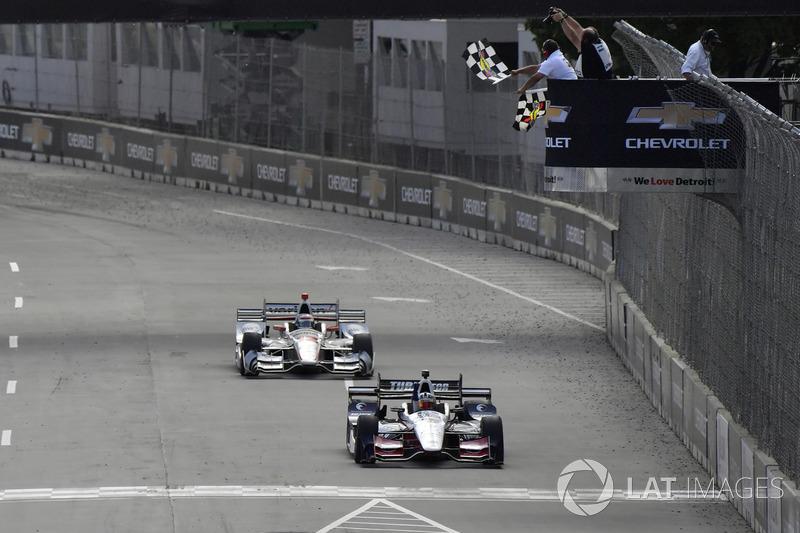 Sieg für Graham Rahal, Rahal Letterman Lanigan Racing, Honda