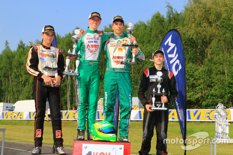 DKM Podium Rennen 1