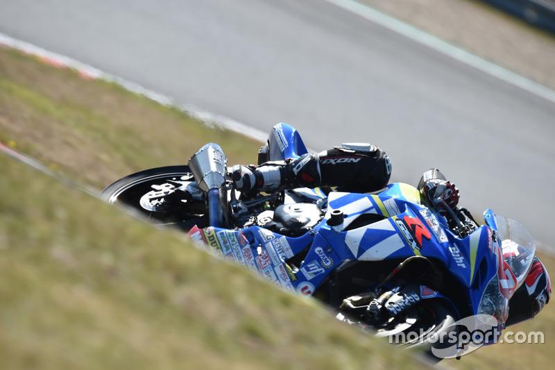 #72, Junior Team LMS Suzuki, Suzuki: Baptiste Guittet, Romain Maitre, Robin Camus