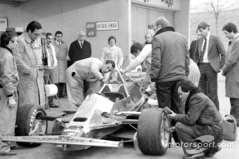 Eerste test met de Ferrari 126 C2
