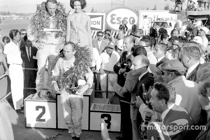 Победа в чемпионате мира 1964 года на ГП Мексики