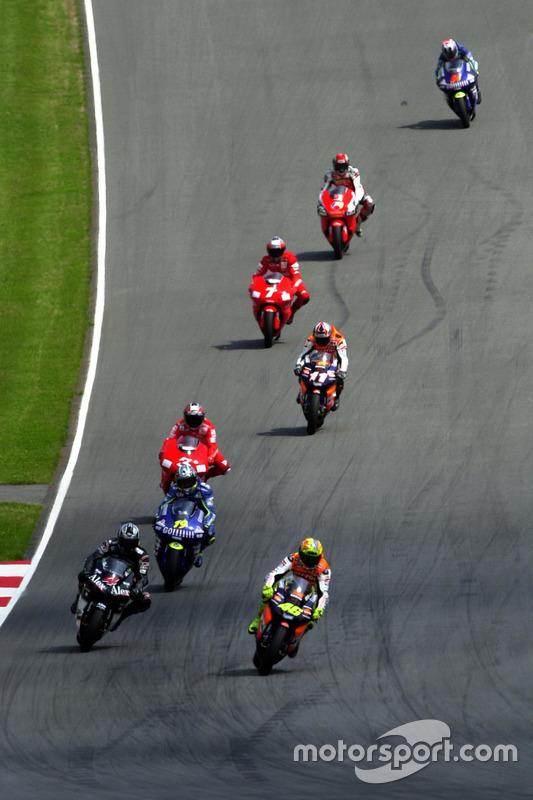 Valentino Rossi, Repsol Honda Team, in Führung
