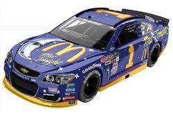 Throwback-Design von Jamie McMurray, Chip Ganassi Racing, Chevrolet