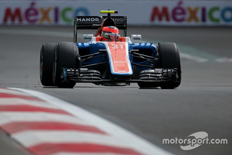 Esteban Ocon, Manor Racing