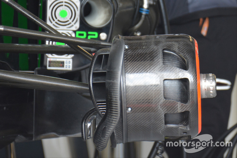 Detalles del McLaren MP4-31