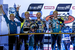Podyum: #1 Suzuki Endurance Racing Team, Suzuki GSX R 1000: Vincent Philippe, Anthony Delhalle, Etie