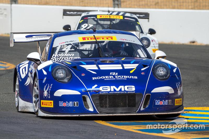 #14 GMG Racing Porsche 911 GT3R: James Sofronas