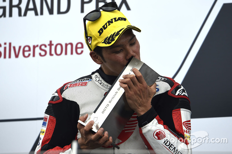 Podium: third place Takaaki Nakagami, Honda Team Asia