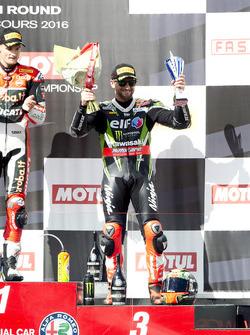 Podium: third place Tom Sykes, Kawasaki Racing