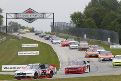 Start: Alex Tagliani, Team Penske Ford leads
