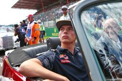 Max Verstappen, Red Bull Racing, bei der Fahrerparade