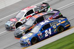 Austin Dillon, Richard Childress Racing Chevrolet, Denny Hamlin, Joe Gibbs Racing Toyota, Chase Elli