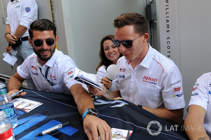 Jose Maria Lopez, Mike Conway, Toyota Racing