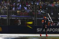 Max Verstappen, Red Bull, walks back to his garage