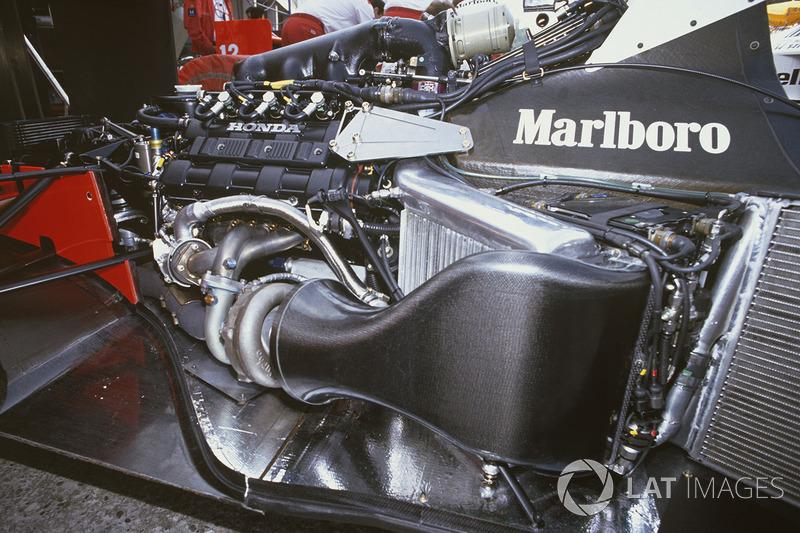 Honda Ra168e V6 Turbocharged Engine In Mclaren Mp4 4