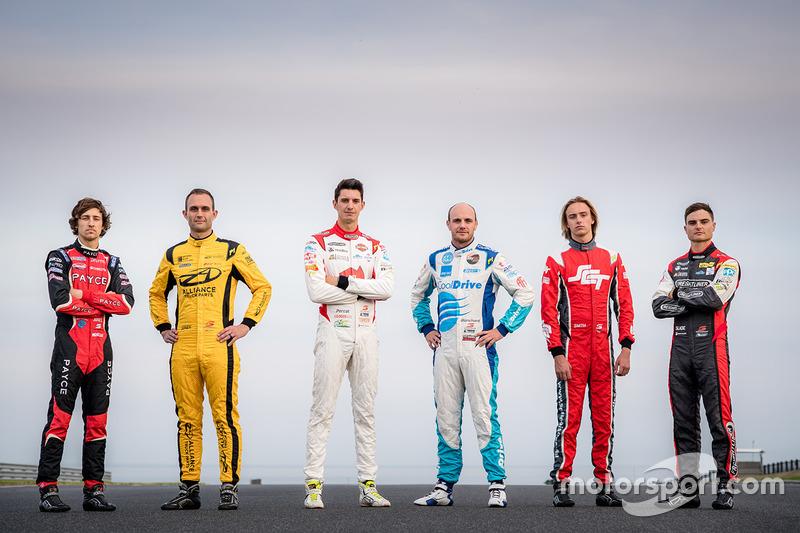 Tim Slade, Brad Jones Racing Holden, Nick Percat, Brad Jones Racing Holden, Tim Blanchard, Brad Jone