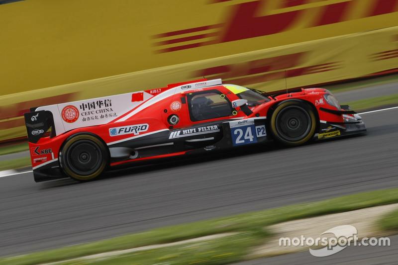 #24 CEFC Manor TRS Racing Oreca 07 Gibson: Tor Graves, Jonathan Hirschi, Jean-Éric Vergne