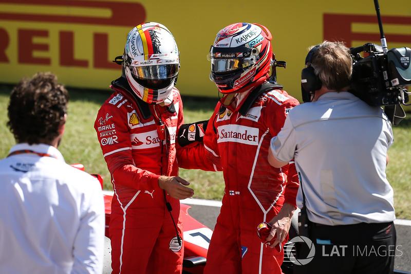 Raikkonen como 'piloto número 2' de Ferrari