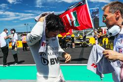 Sergio Perez, Force India sur la grille