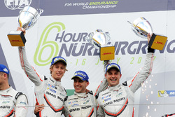 1. Timo Bernhard, Earl Bamber, Brendon Hartley, Porsche Team