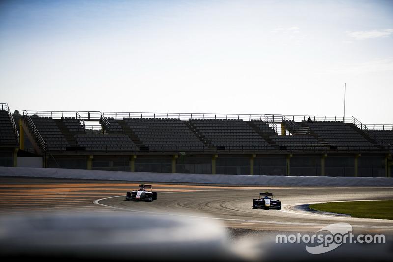 Raoul Hyman, Campos Racing and Tatiana Calderon, DAMS