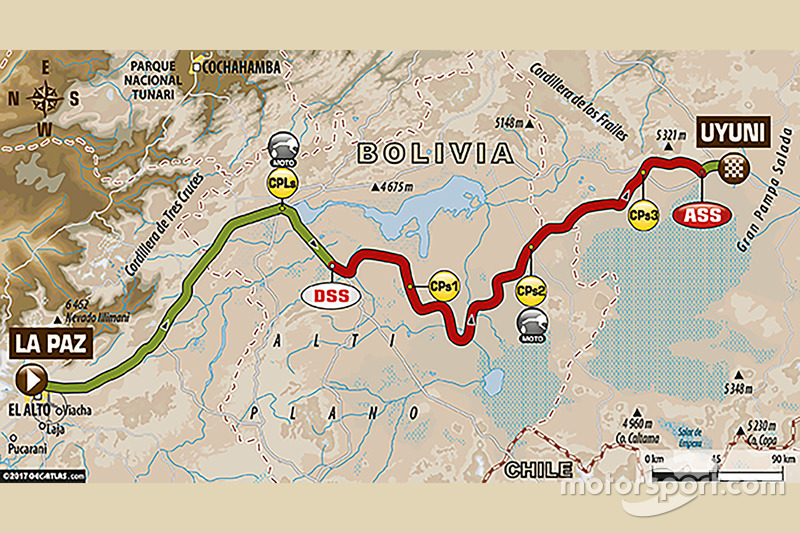 Stage 7: La Paz - Uyuni