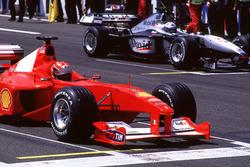 Міхаель Шумахер, Ferrari, Девід Култхард, McLaren