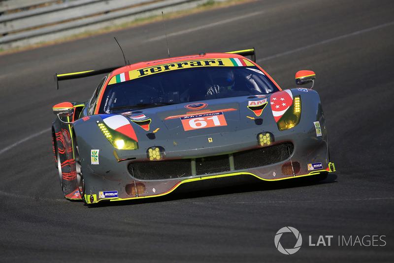 11. GTE-Am: #61 Clearwater Racing, Ferrari 488 GTE