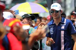 Esteban Ocon, Sahara Force India F1 et des fans