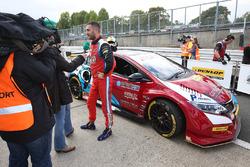 Ganador de la pole Jack Goff, Eurotech Racing Honda Civic Type R