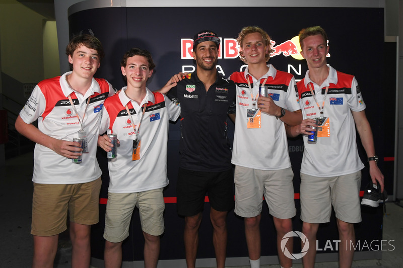 Переможці F1 in Schools , Даніель Ріккардо, Red Bull Racing