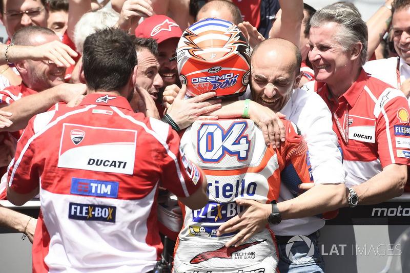 Andrea Dovizioso, Ducati Team, Domenicali