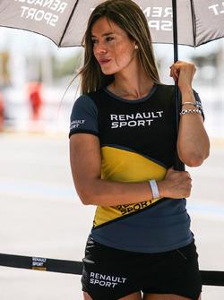 Paddock Girls Argentina Renault Sport