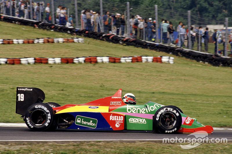 #19 : Teo Fabi, Benetton B187, Ford