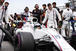 Felipe Massa, Williams, rrives