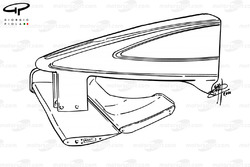 Williams FW22 front wing profiles