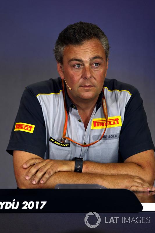 Mario Isola, Pirelli Director deportivo