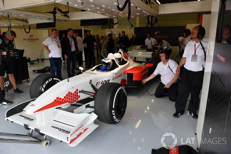 Дэвид Салинс, F1 Experiences