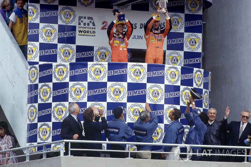 1991: Volker Weidler, Johnny Herbert, Bertrand Gachot