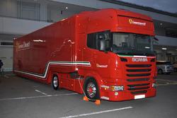 フェラーリ・コルセ・クリエンティのトランスポーター
