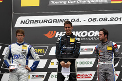 Podium: 1. Josh Files, Target Competition, Honda Civic Type R-TCR, 2. Mike Halder, Wolf-Power Racing, Seat Leon TCR, 3. Niels Langeveld, Racing One, Audi RS3 LMS