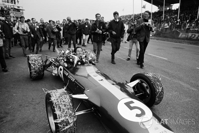 Jim Clark, Lotus 49