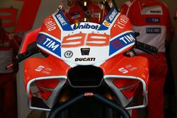 Jorge Lorenzo, Ducati Team grenaj detayı