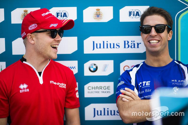 Felix Rosenqvist, Mahindra Racing. & Antonio Felix da Costa, Amlin Andretti Formula E Team.