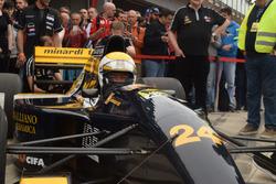Gian Carlo Minardi im Minardi M192-Lamborghini