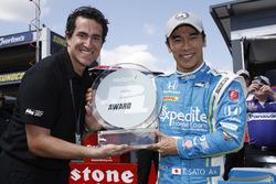 Володар поулу Такума Сато, Andretti Autosport Honda
